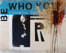 "Be Who You R 52"" by 64"""