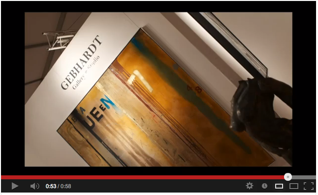 Gebhardt Gallery Video @ ArtExpo Miami + Solo