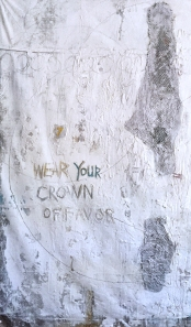 "Wear Your Crown Of Favor 76"" by 44"" and 76"" by 51"""